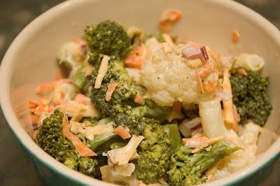 recettes  Salade de chou fleur