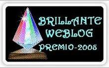 Premio Brillante Weblog.
