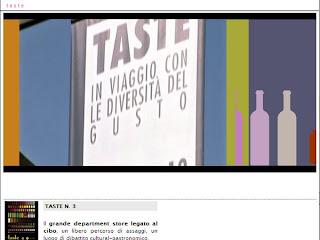 Taste 2008 :: In viaggio con le diversità del gusto :: 3a Edizione ::