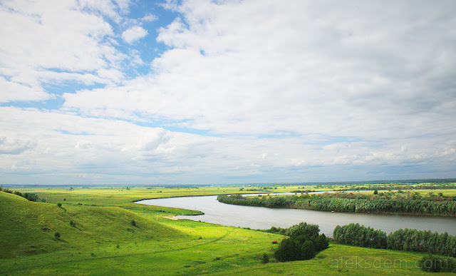 есенин, рязань, красивые пейзажи