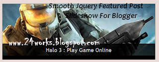 Smooth Jquery Featured Post Slideshow For Blogger