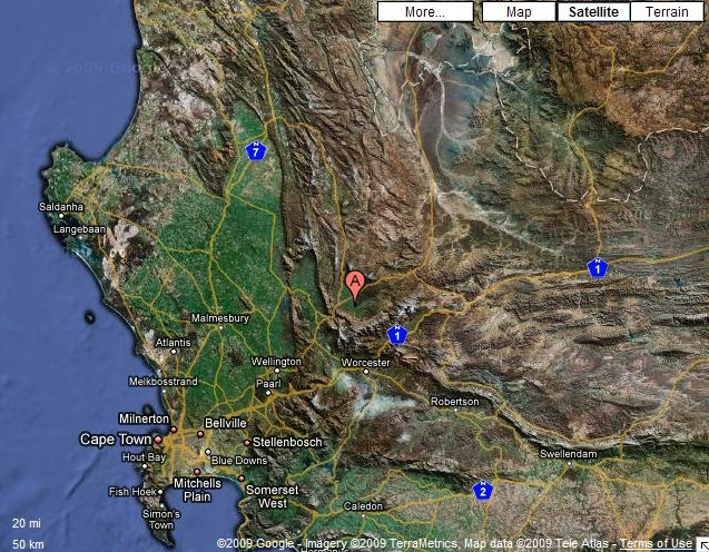Ceres South Africa  city photos gallery : ... Service, South Africa: Seismic Activity: Ceres, South Africa