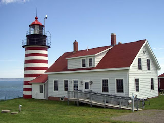 West Quoddy Head Lighthouse, Maine