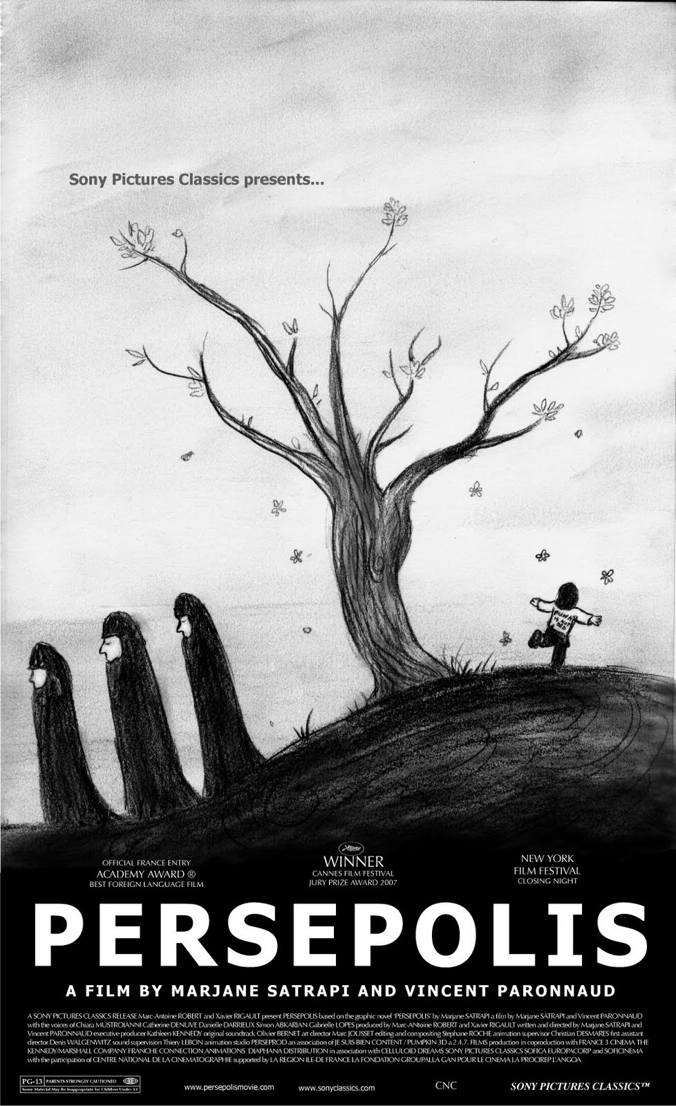 film and persepolis Persepolis is an animated film set in iran, austria and france, whose main character is a young girl named, not surprisingly, marjane nine at the time of the iranian revolution in 1979.