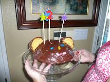Monkey cake?