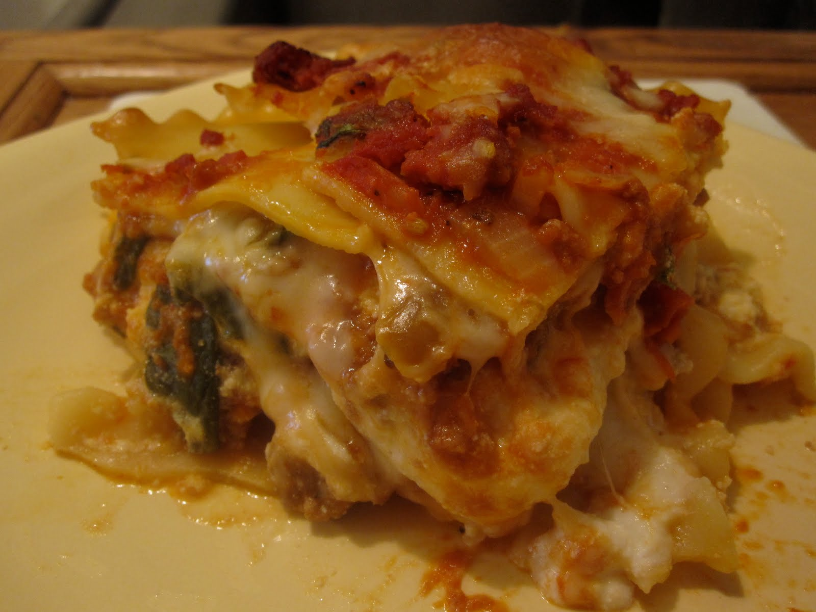 "Just Putzing Around the Kitchen: The ""Ultimate"" Lasagna"