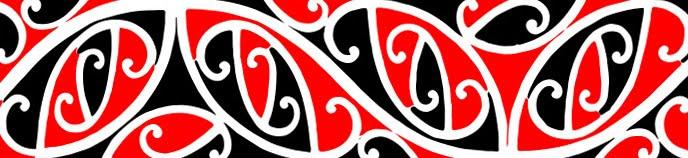 Maori Kowhaiwhai Patterns Rafter