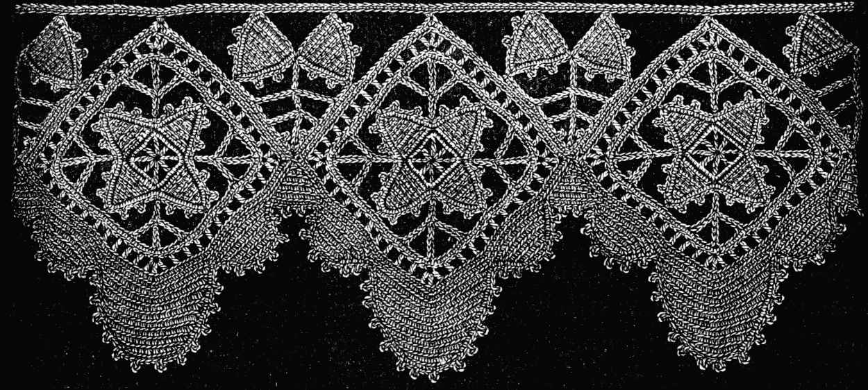 Free Knitting Pattern - Eyelet Lace Garter Stitch from the Lace