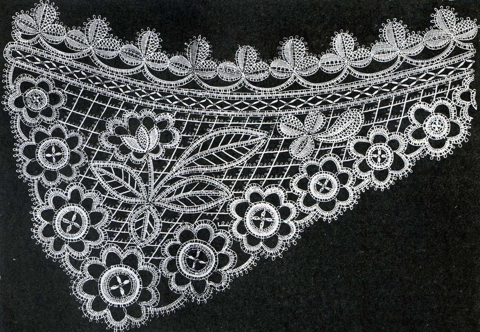 Honiton Lace For Sale Illustration Honiton Lace