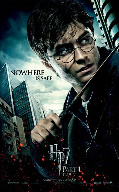 harry potter and the deathly hallows poster nowhere is safe 3gp+movie [Phim| HD] Harry Potter And The Deathly Hallows Part 1 (2010)