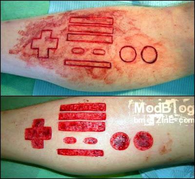 Tatto Games on Tattoo Twinz  Nintendo Tattoo
