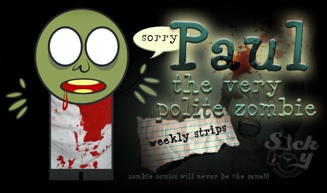 The very polite zombie