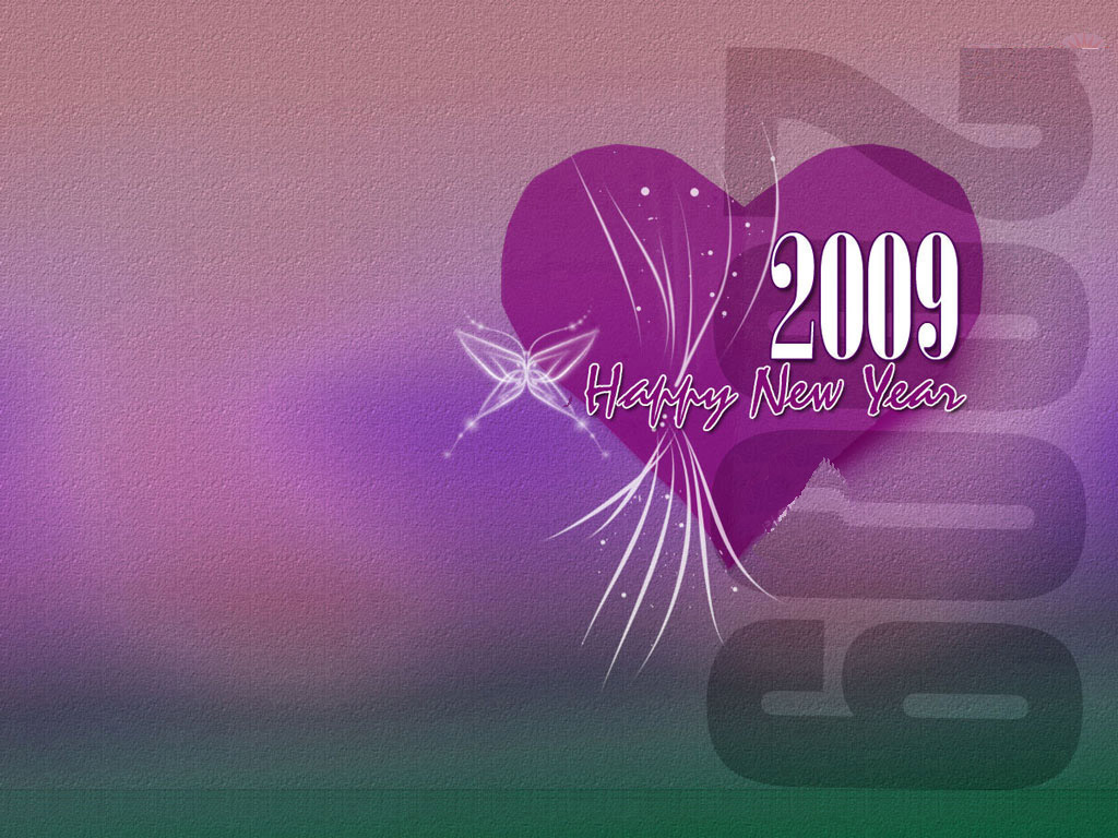 New Year Celebrations 2009: New Year Wallpaper