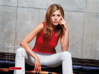 Jennifer Aniston calendar 2009