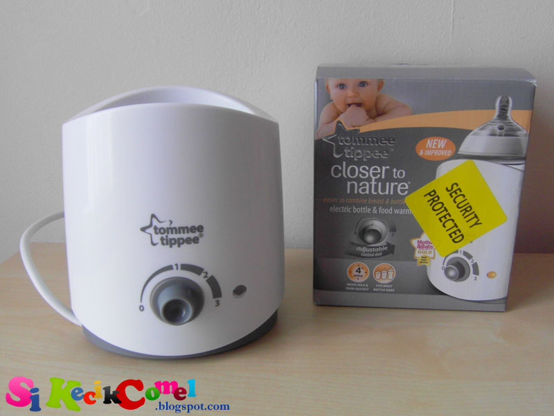 tommee tippee electric bottle warmer instructions