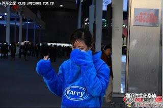 gadis maskot china 25 Gadis Maskot Comel Yang Menyentuh Hati