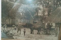 Gården Kathrinebjerg i Humble på Langeland ca.1910