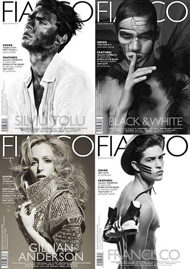 Fiasco Magazine Gillian Anderson. that is Gillian Anderson.