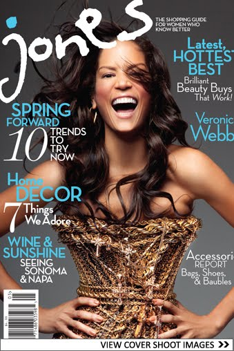 Bay Area Style File: Cover Shots: Jones Magazine (Premiere Issue)