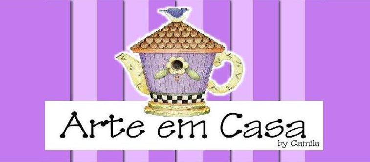ARTE EM CASA