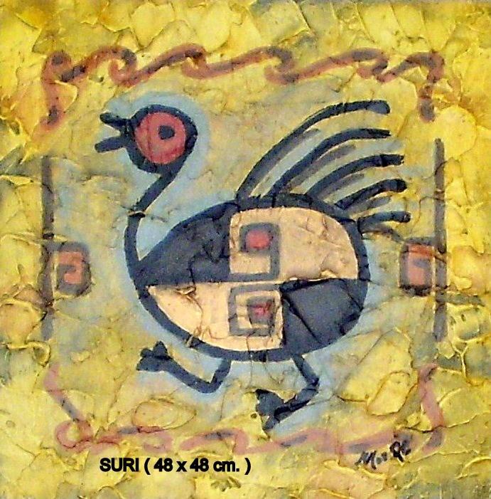 SURI  (Avestruz)