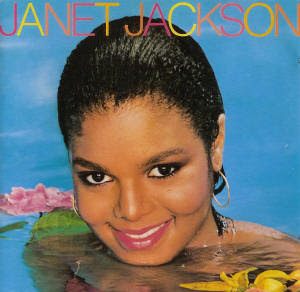 Janet saindo do restaurante  JanetJacksonDebutCover1982