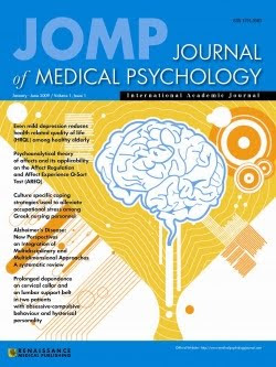 JOURNAL OF MEDICAL PSYCHOLOGY