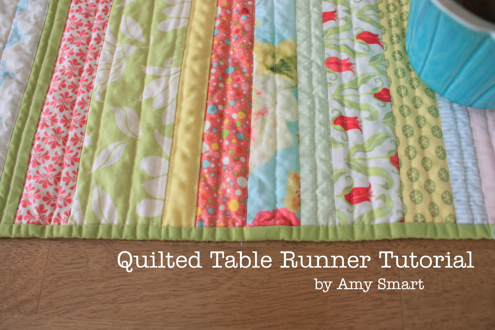 easy Co.: patterns amy guest blogger: quilter of table a tutorial diary of runner  quilted and