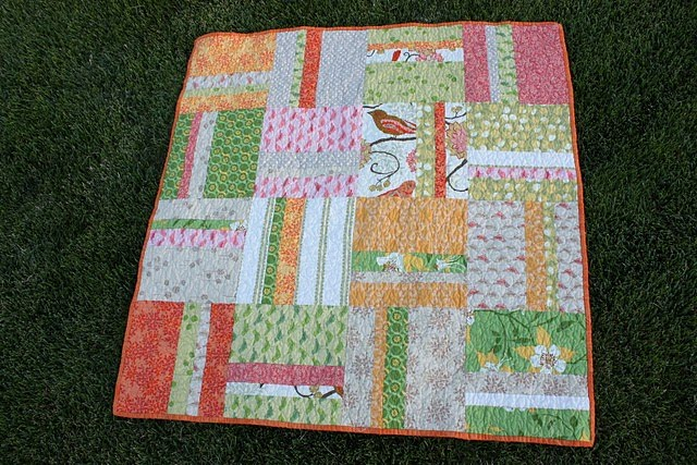 Super Easy Beginner Quilt Patterns : New Easy Quilt Tutorial - Diary of a Quilter - a quilt blog