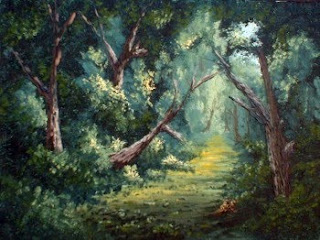 Forest Oil Painting Landscapes
