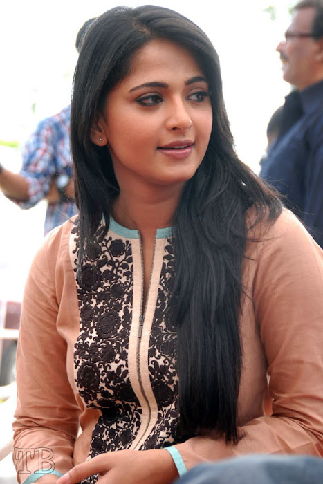 anushka new ragada press meet actress pics