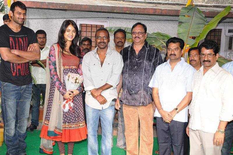 moviewallpapers prabhas rebel movie launch anushka