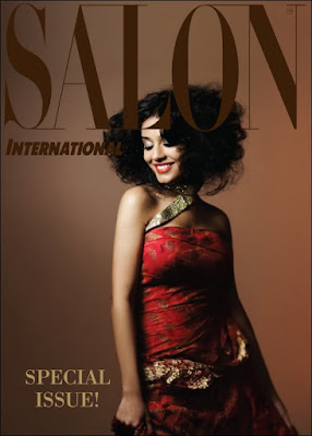 Amrita Rao on Salon International Magazine