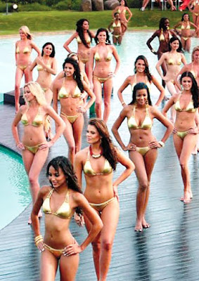 Pooja Chopra in swimsuit