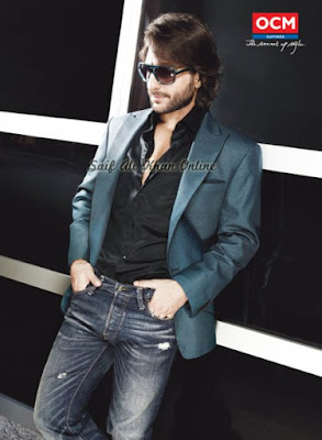 Saif Ali Khan in OCM Ad