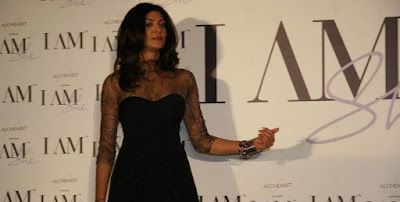 Sushmita Sen at Alchemist I Am She Press Conference