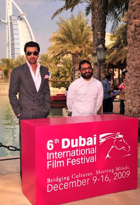 Ranbir Kapoor at a Pess Conference in Dubai