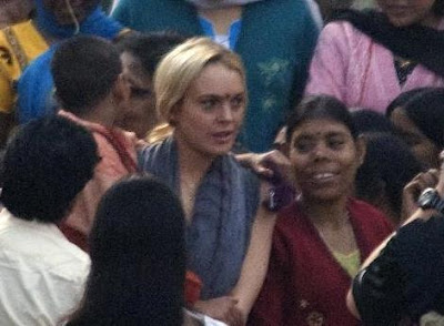 Lindsay Lohan In India
