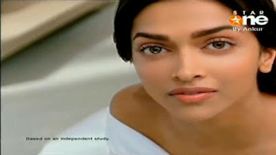 Deepika Padukone in Neutrogena Fairness Cream ad