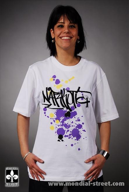 T-Shirt Painting Graffiti Tag NARKOTIC & http://WWW.MONDIAL-STREET.COM