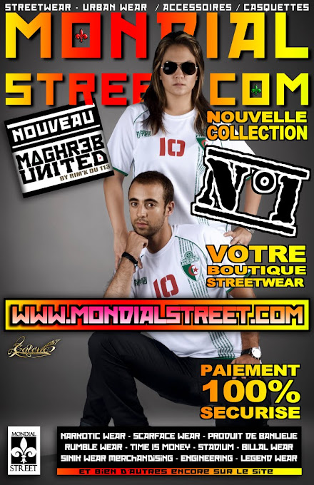 RIM'S 113 & MONDIAL-STREET.COM présente la collection MAGHREB-UNITED