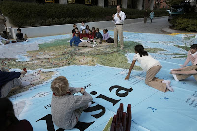 giant traveling mapsoh my
