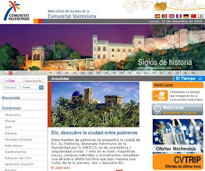 Frente al descenso de la media de destinos españoles, los turistas extranjeros aumentan en la Comunitat - Portal Turisme Comunitat Valenciana
