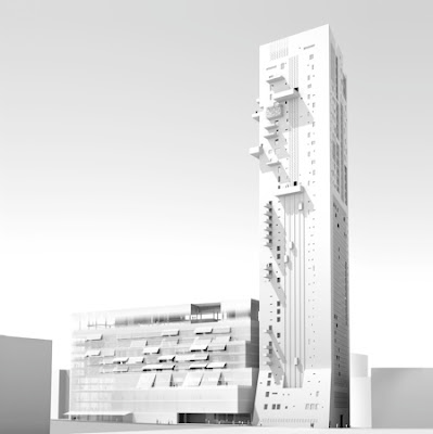Stunning Tower Design in Beirut by Jean Nouvel Architect