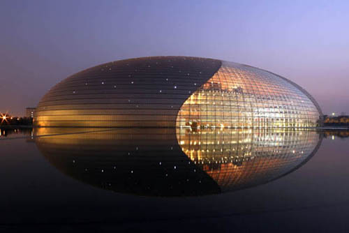 Great Design Photos of The National Grand Theatre in Beijing