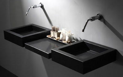 Modern and minimalist Quartz Sinks from Giquadro