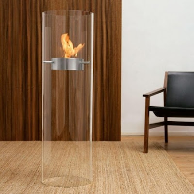 Simple Design of Ponton fireplace by Wolf Udo Wagner