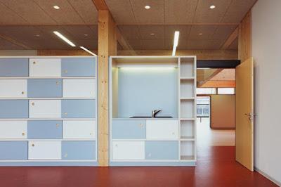 Architectural Design of Dandelion Clock in Buchen by Ecker Architekten