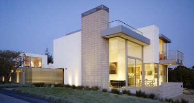 Concrete Block House by ehrlich architects