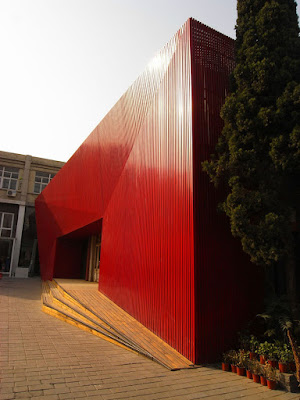 Red Diamond Dance Theater by Chiasmus Partners